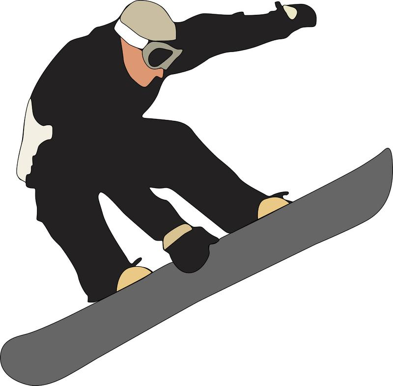 Snowboard panda free images. Snowboarding clipart
