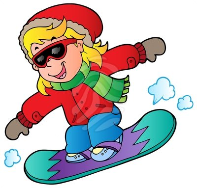 Snowboarding clipart winter fun. Snowboard panda free images
