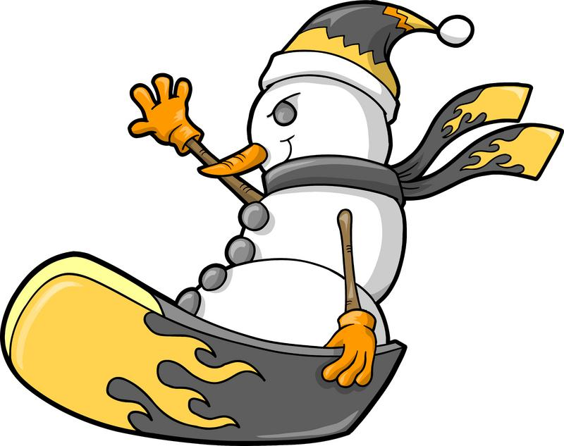 Snowboarding clipart. Snowboard panda free images