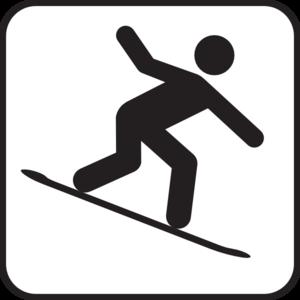 Clip art at clker. Snowboarding clipart