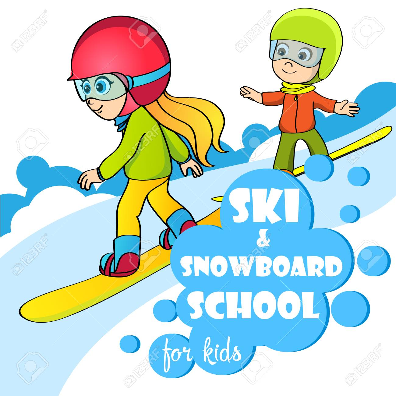 Free download clip art. Snowboarding clipart active boy