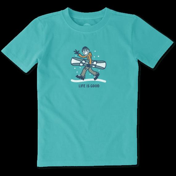 Boys snowboard jake crusher. Snowboarding clipart active boy