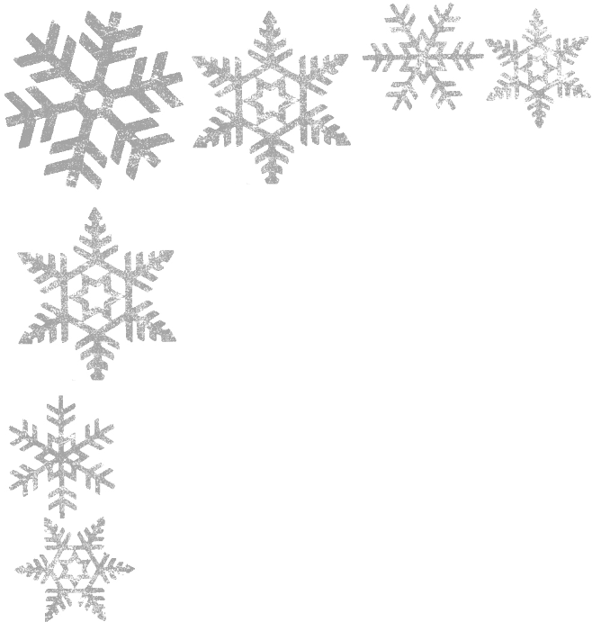 Snowflake border png.  snowflakes for free