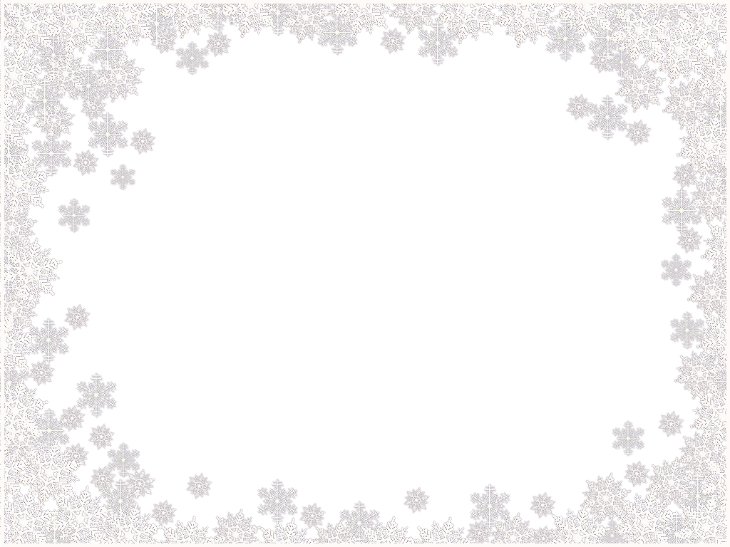 Snow frame png. Snowflakes border image