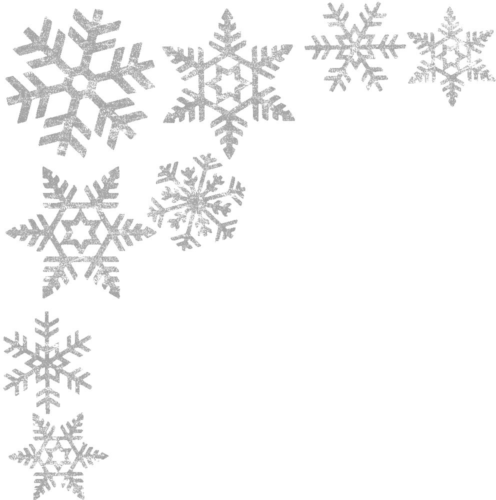 graphic library borders. Snowflake border png transparent