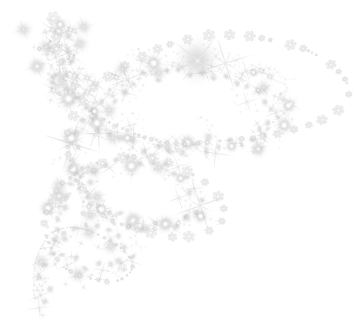 Snowflake border png transparent. Snowflakes images pluspng white