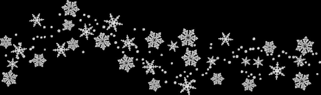 jpg library black. Snowflake border png transparent