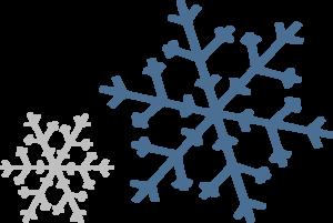 Snowflakes clip art at. Snowflake clipart