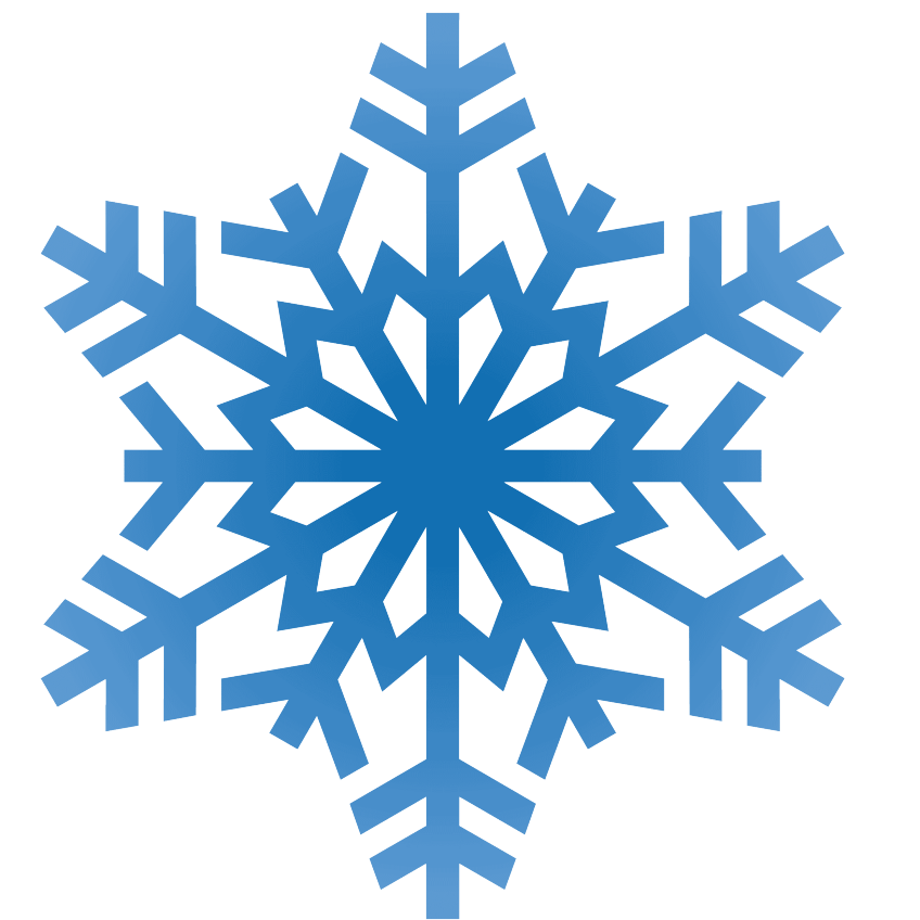 Snowflakes transparent background free. Snowflake clipart