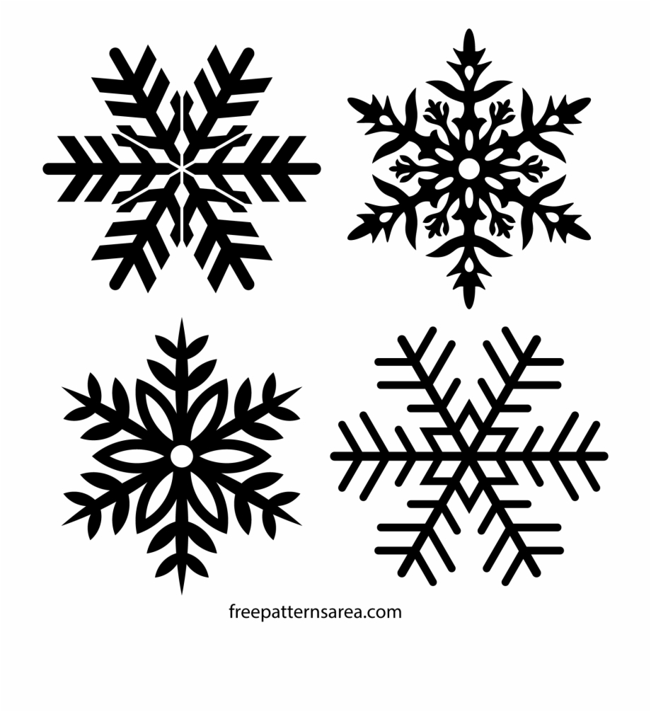 Clip art transprent png. Snowflake clipart frost