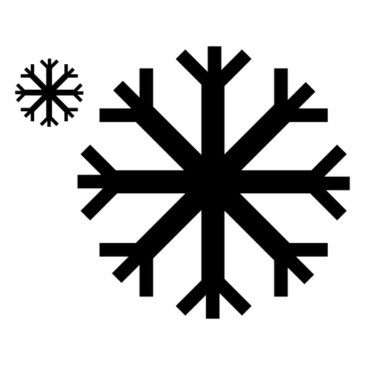 Snowflakes icon transparent svg. Snowflake vector png