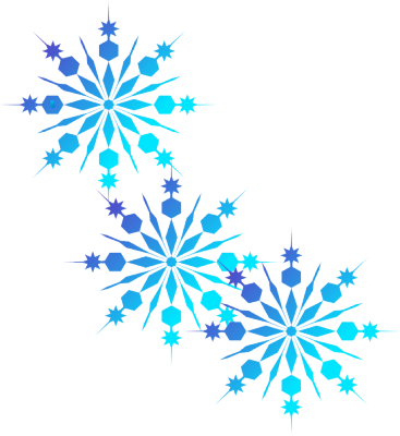 Snowflakes border png.  jpg transparent library