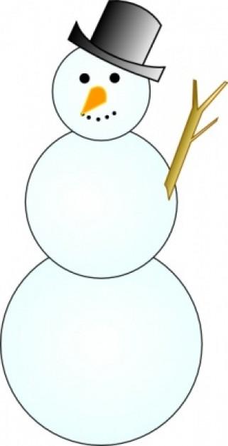 Snowman clipart. Free panda images