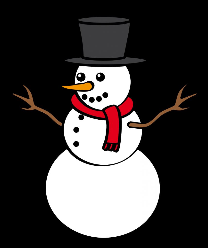 Christmas clipartix. Snowman clipart