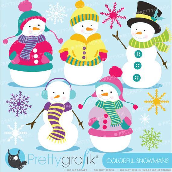 Buy get ff sale. Snowman clipart colorful