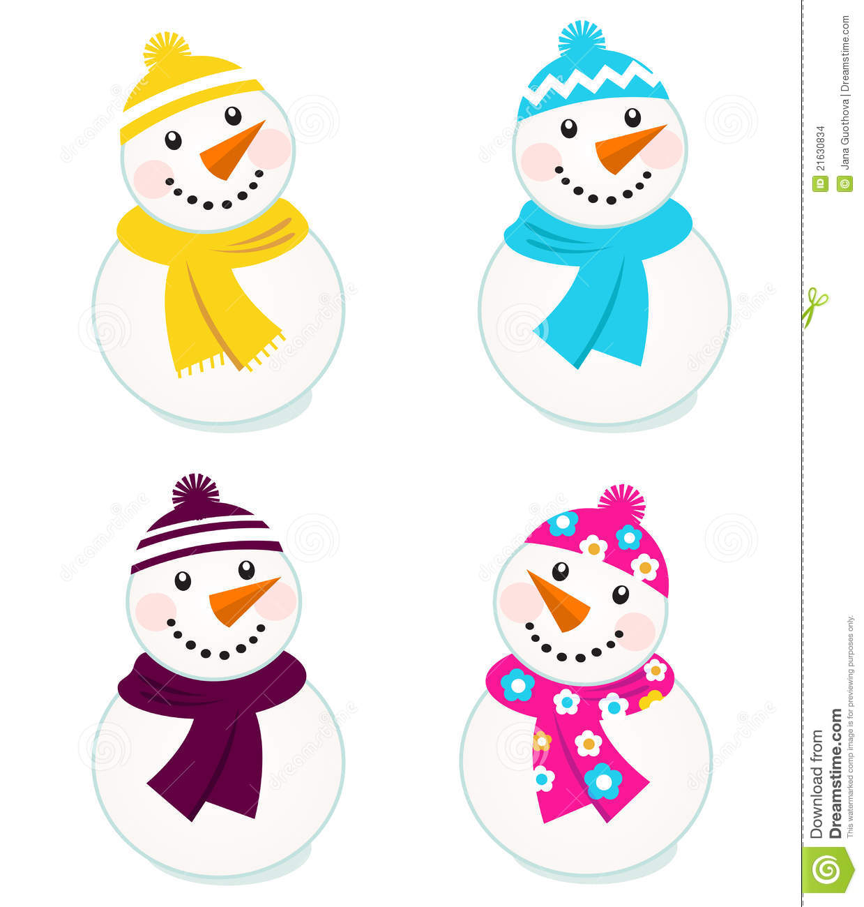 Snowman clipart colorful. Snowmen free download best