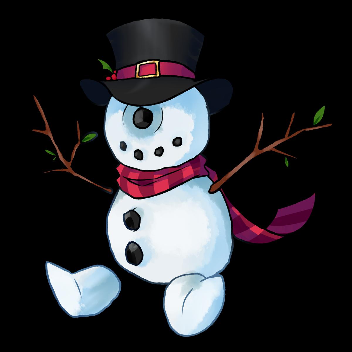 Calamari . Snowman clipart country