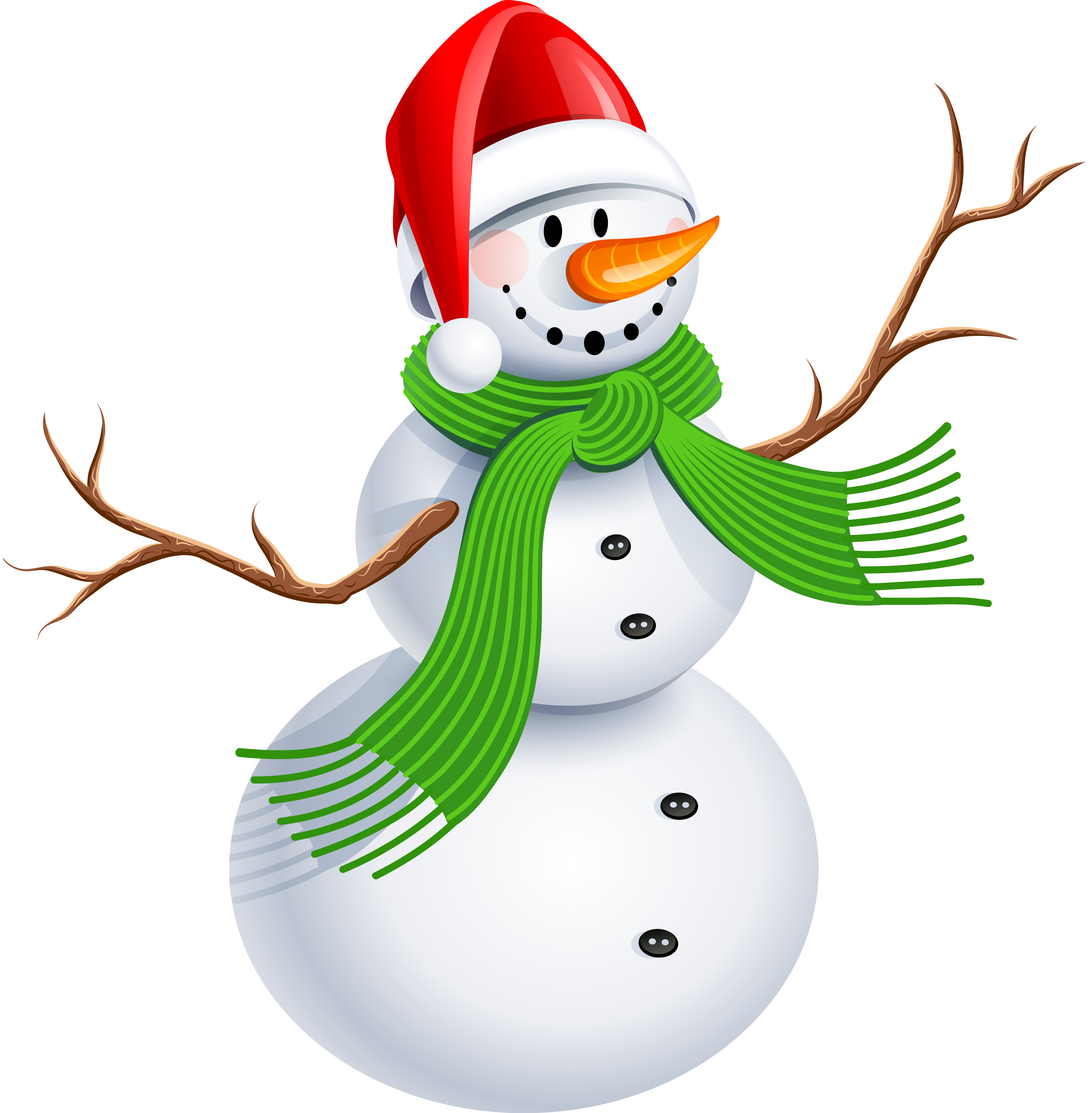The best online collection. Snowman clipart green