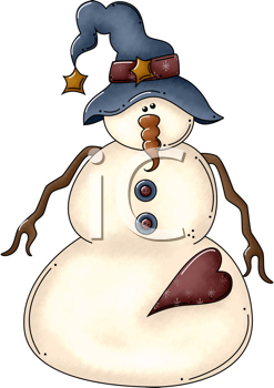 Snowman clipart rustic. Image detail for royalty