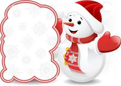 Showcase of amazing christmas. Snowman clipart theme