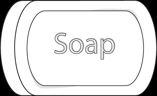 Clip art image black. Soap clipart