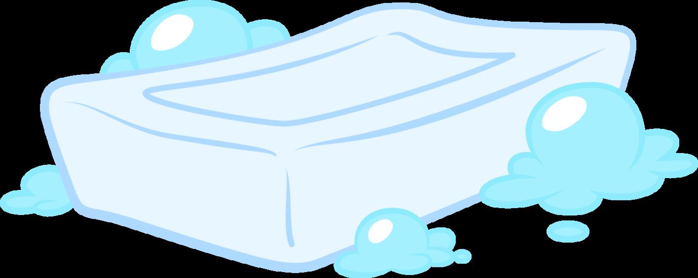 Soap blue soap