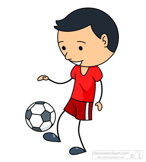 Sports clipart soccer. Free to download boy