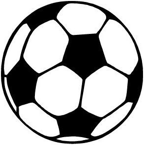 Ball clipart outline. Free soccer graphics images