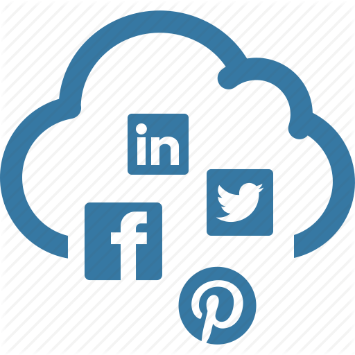 Social media icon png. Seo internet marketing by