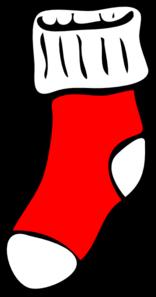 Sock clipart. Clip art at clker