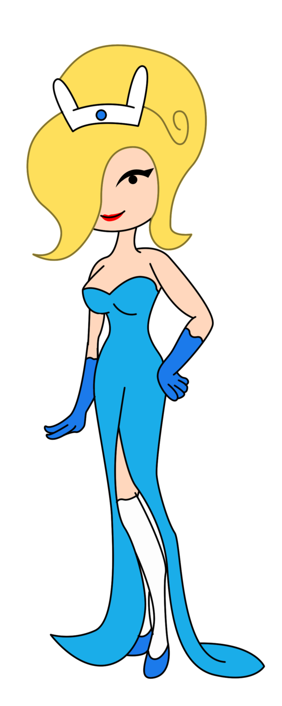 Sock clipart blue dress. Fionna s formal by