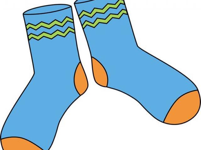 Free download clip art. Sock clipart blue dress