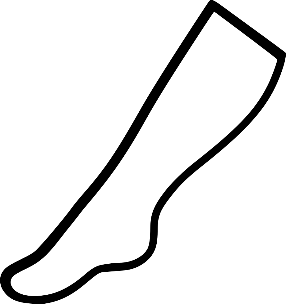 Sock knee sock