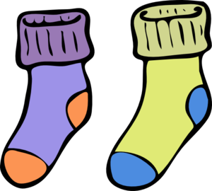 Socks clip art quiet. Sock clipart wool sock