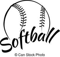 Candice choward on pinterest. Softball clipart