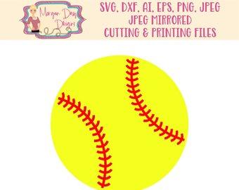 Clip art etsy svg. Softball clipart