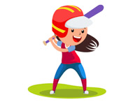 Softball clipart. Sports free to download