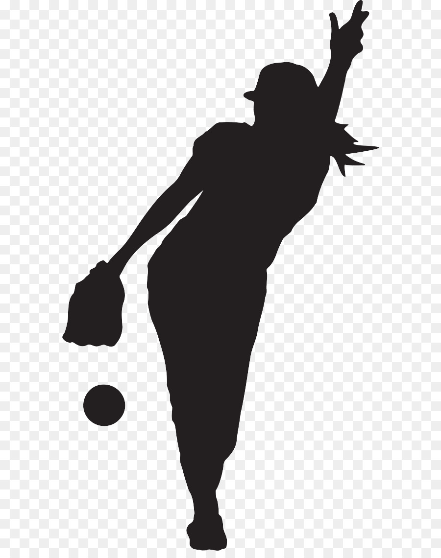 Player silhouette at getdrawings. Softball clipart