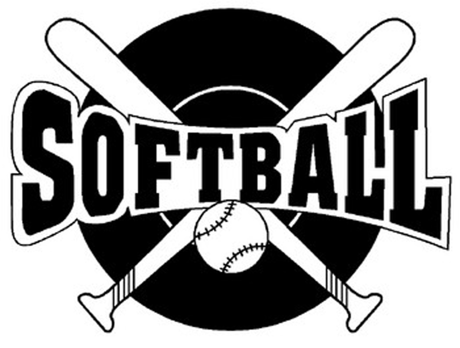 Jokingart com. Softball clipart