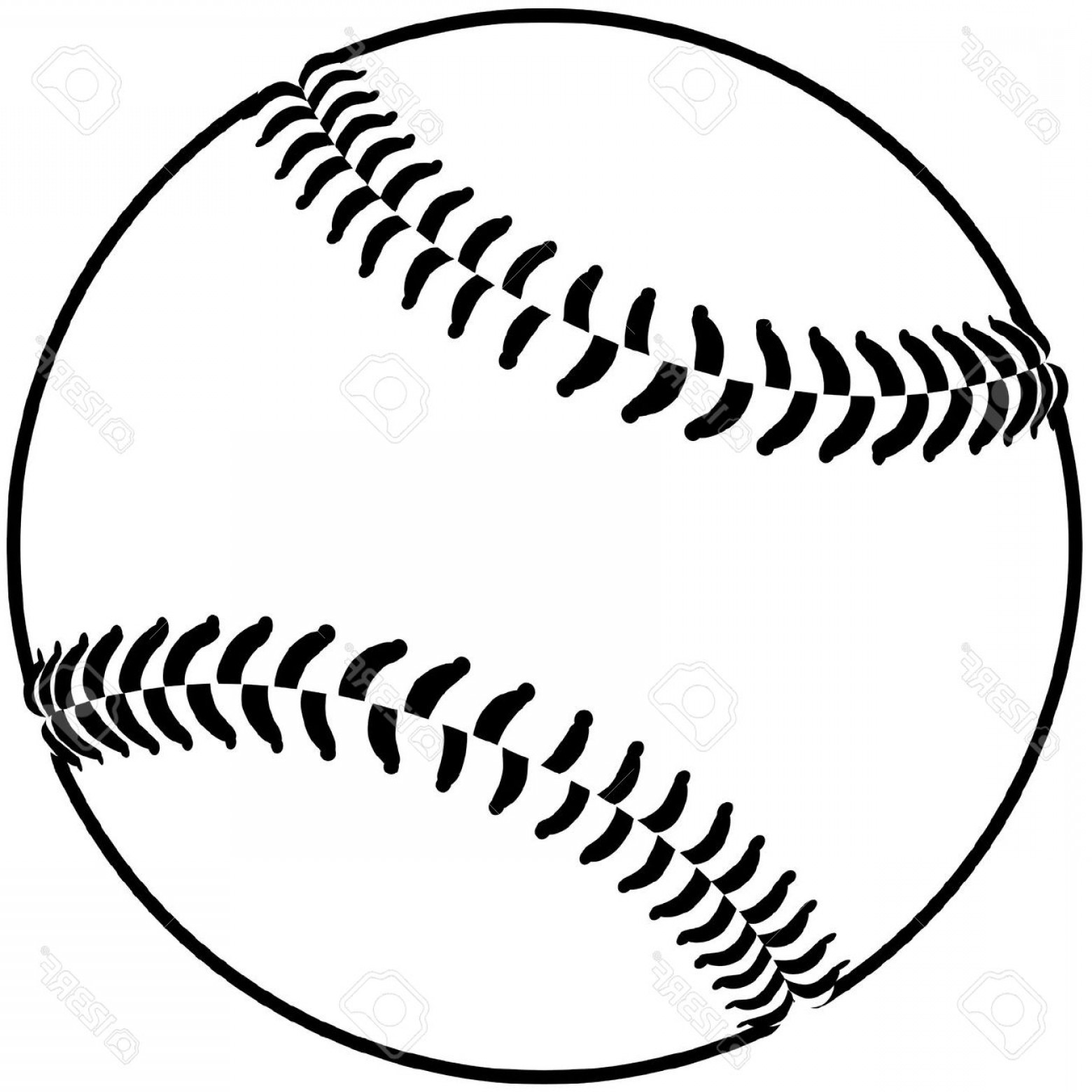 Softball clipart. Black and white drawn