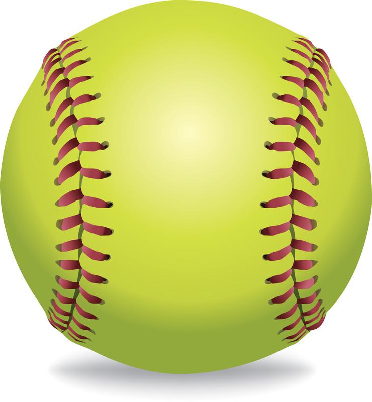 Sport baseball tournament bell. Softball clipart base ball