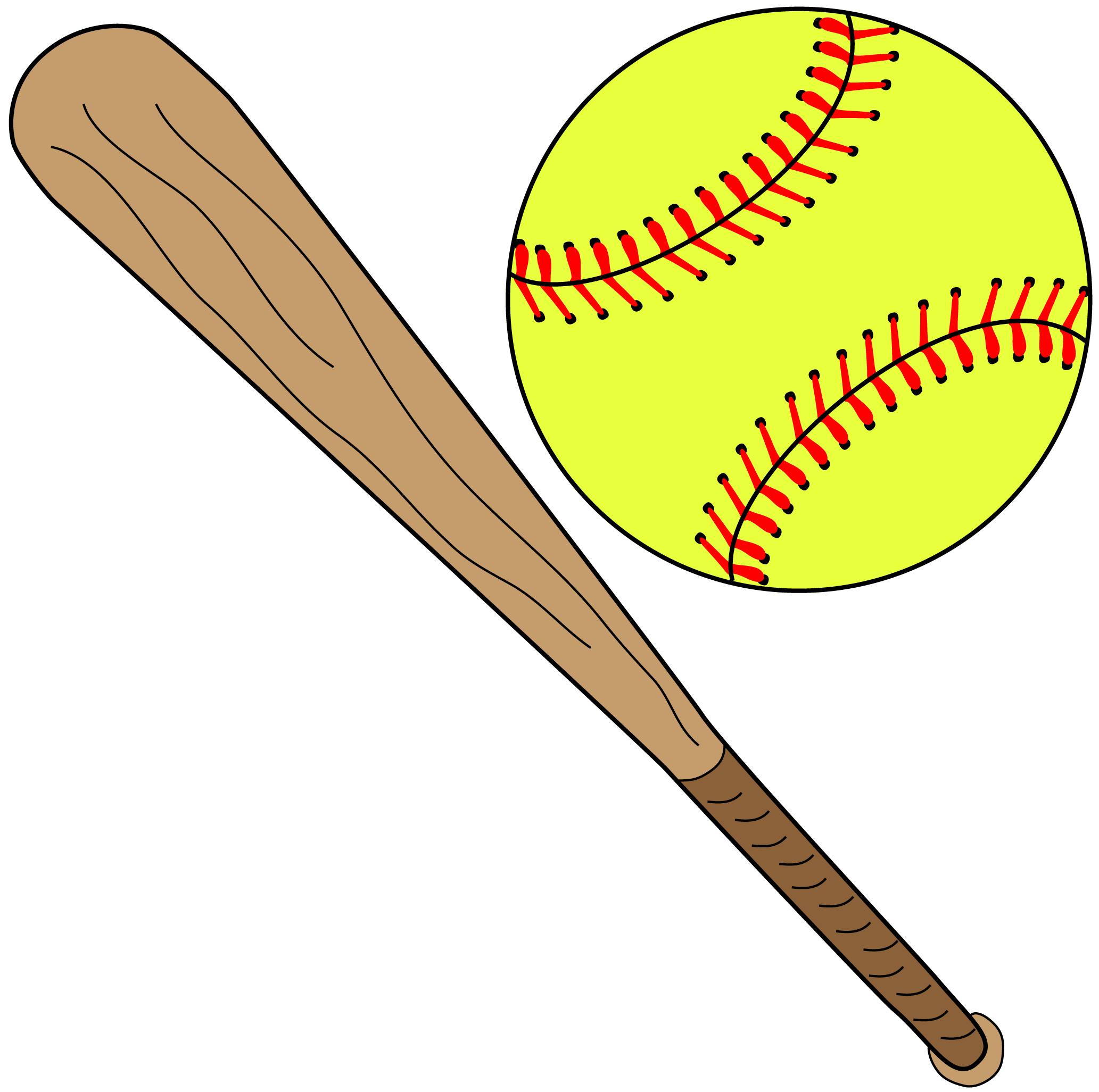 Clear background frames illustrations. Softball clipart batting cage