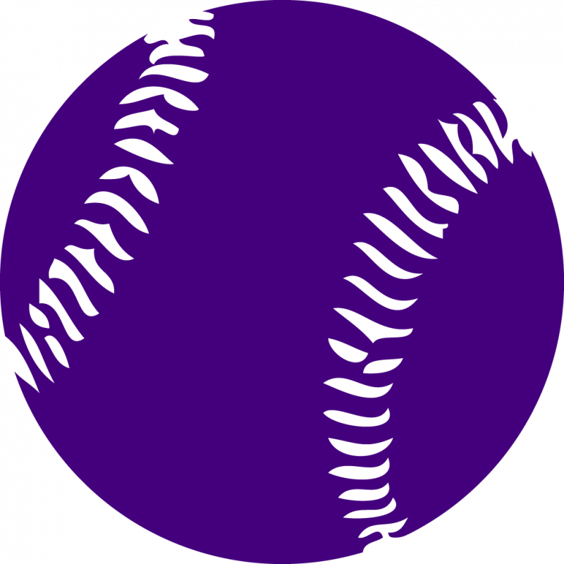 Purple cliparts zone free. Softball clipart green