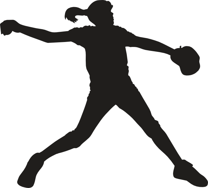 Pitcher free on dumielauxepices. Softball clipart green