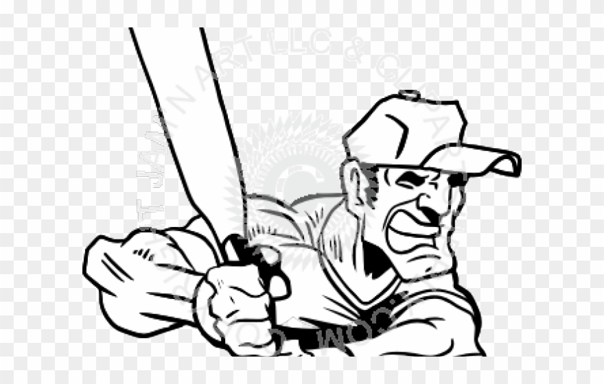 Softball clipart man. Illustration png download
