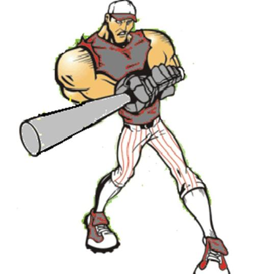 Softball clipart man. Free men s cliparts