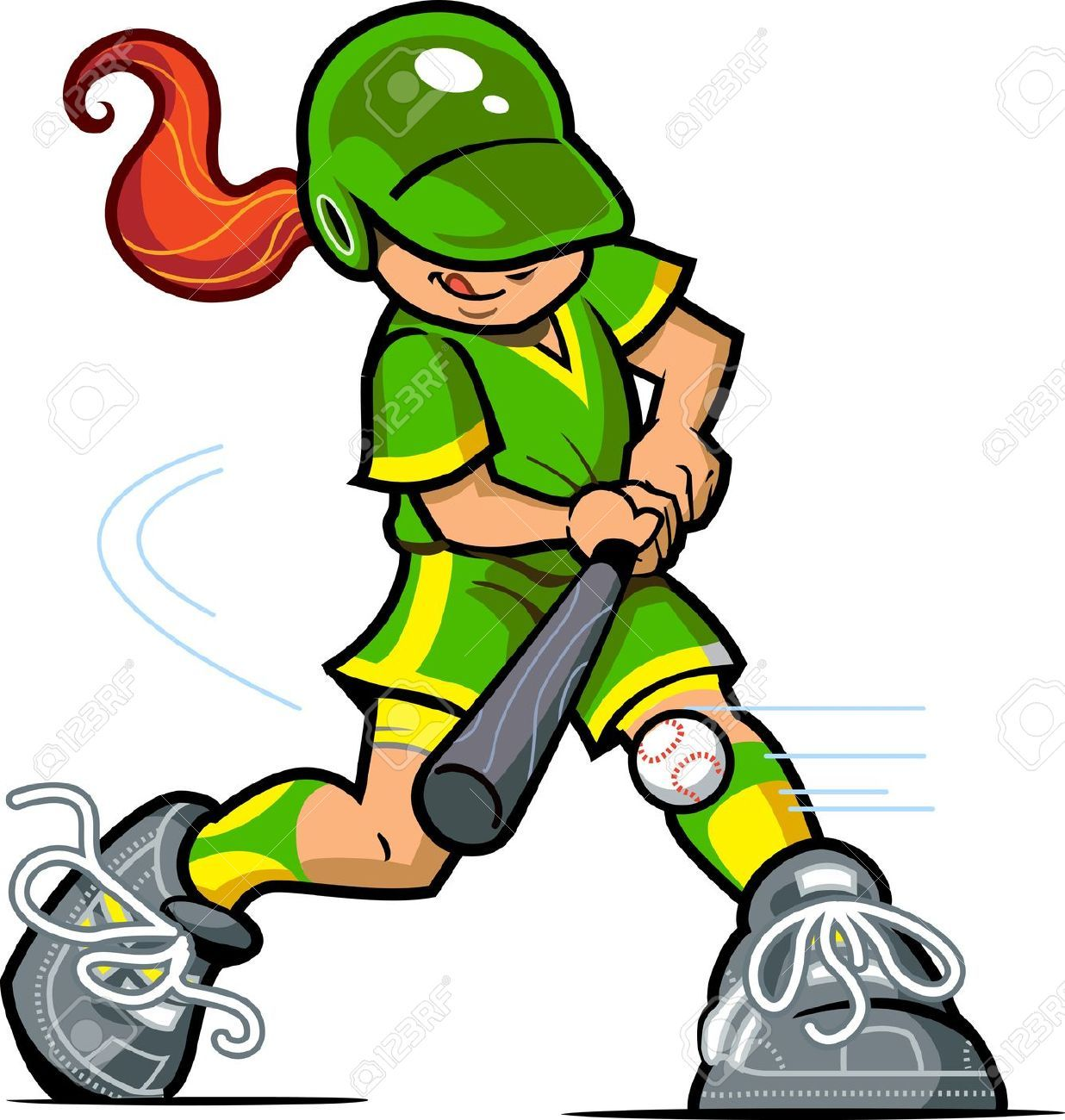 Softball clipart outfielder. Girl google search olivia