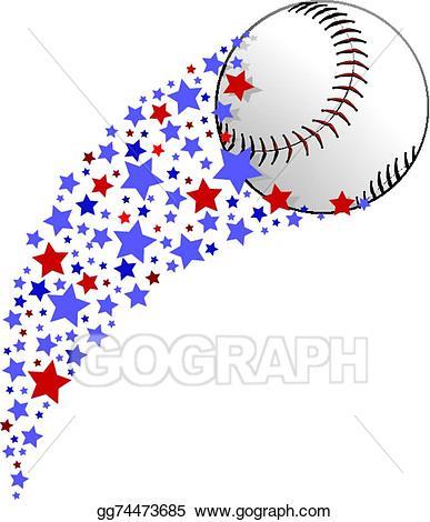 Softball clipart red. Clip art vector baseball