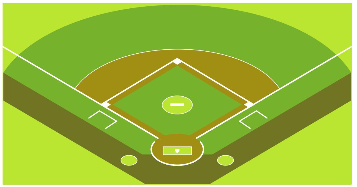 Softball clipart softball field.  clipartlook