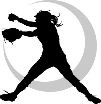 Softball clipart softball player. Clipartpost